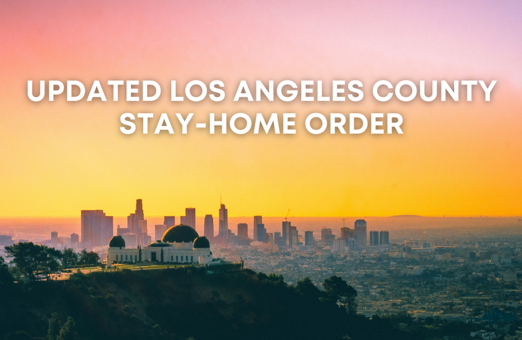california stay at home order