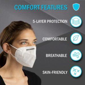 3D Folding KN95 Mask