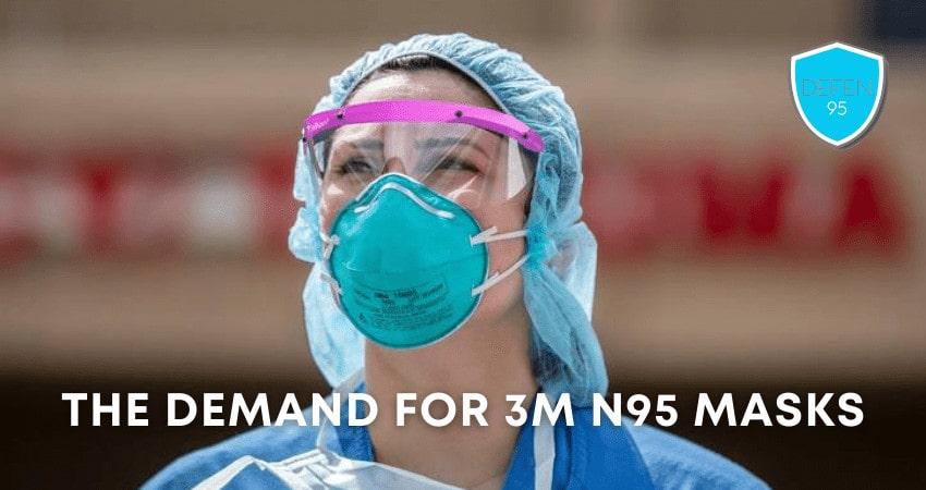 3M N95 Respirator Face Masks